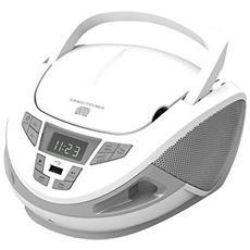 Radio Cd Brigmton W-440 Usb Bianco