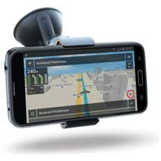 Universal Car Holder for Smartphone 3-6'' Auto Passive holder Nero