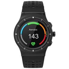 "Smartwatch Nara XW Pro Display 1.22"" Bluetooth con Contapassi e Cardiofrequenzimetro Nero / Rosso - Europa"