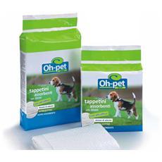 120 Tappetini igienici per cani 60x90 traverse con attrattivo al feromone e adesivi