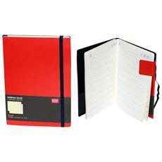 Rubrica Andres Book con Brithady Calendar Rossa