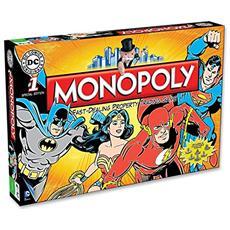 Dc Comics Board Game Monopoly Retro *english Version*