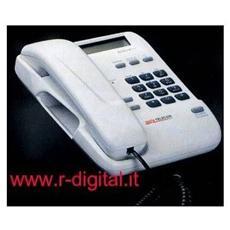 Telefono Fisso Telecom Sirio 2000 Basic Nero Bianco Rosso Display Lcd Id Caller Casa Ufficio