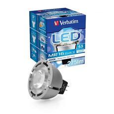 *Lampada Led 6,5 Watt 12 Volt Attacco Mr16 Bianco Neutro 4200 K