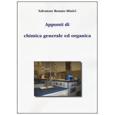 Appunti di chimica generale ed organica