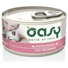Cibo per gatti Wet Cat Mousse con Salmone 85 gr
