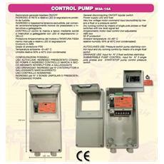 Quadro Elettronico Monofase Control Pump