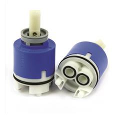Cartuccia Ceramica Nkj40 / b Rotativo, Cartuccia Ceramica Tipo Rotativo Diametro Mm. 40 Con Distributore Riferimento Nkj40 / b