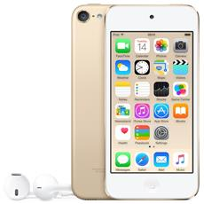 "iPod Touch 32GB Display Retina 4"" IPS Multi-Touch Fotocamera 8Mpx con AirPlay iCloud Bluetooth / Wi-Fi Colore Oro RICONDIZIONATO"