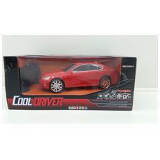 Cooldriver - Macchina Radiotelecomandata - Modello Coupe - Rossa - Scala 1:24