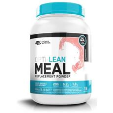 Opti-lean Meal Replacement 954 G - Optimum Nutrition - Controllo Dell'appetito - Fragola