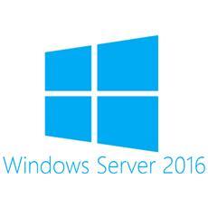 Hewlett Packard Enterprise Microsoft Windows Server 2016 Standard Edition ROK 16 Core - DE, 1024 x 768 Pixel, Tedesca