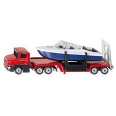 Autoarticolato con Imbarcazione