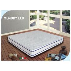 Memory Eco - Materasso 80X190 Singolo Anallergico Memory Forma Altezza 24