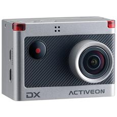 Action Cam DX Sensore CMOS Exmor 12Mpx Full HD Display 2'' Wi-Fi Impermeabile