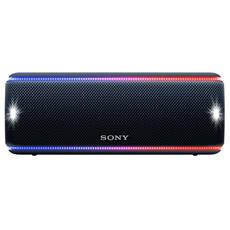 Speaker Portatile SRS-XB31 Extra Bass Wireless Bluetooth Waterproof IP67 Vivavoce Colore Nero