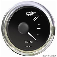 Indicatore trim nero