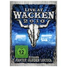 Dvd Live At Wacken 2010