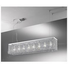 Illuminazione 3887-115 - Sospensione Con Cristalli