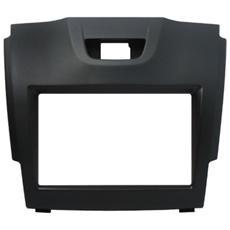 Adattatore autoradio 03644 Kit fissaggio 2DIN colore nero ISUZU D-MAX
