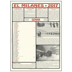 Milanes. Calendario 2017. Con libro (El)