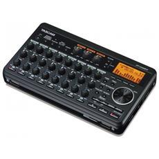 DP-008EX, 10000 Ohm, 81 dBi, 0,005%, 20 - 20000 Hz, Nero, 221 x 126,5 x 44,3 mm