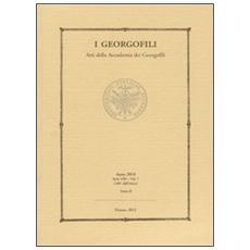 I Georgofili. Atti della Accademia dei Georgofili. Vol. 7/2