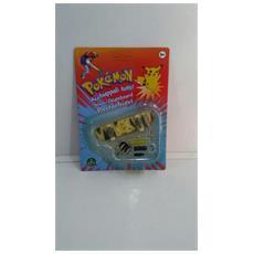 Pokemon Mini-skateboard Portachiavi Con Ruote E Accessori - Pikachu - 8000144512157