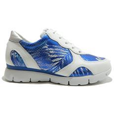 THE FLEXX - Movie Scarpe Donna Sneakers Stringate Hawai Blu - 39 Blu 98029c32d46
