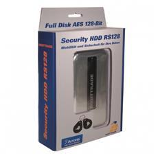 RS128 2TB, Cablato, SATA, HDD, Nero, Argento, 128-bit AES