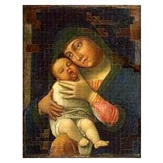 Andrea Mantegna e la creazione iconografica, Madonna della tenerezza con il bambino sognante. Ediz. italiana e inglese