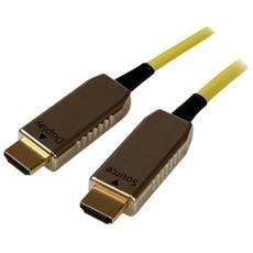 Cavo HDMI ad Alta Velocità Attivo a Fibra Ottica AOC da 30 m - M / M