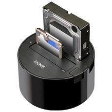 ZM-MH200 U3, Nero, Bianco, USB Type-B, SATA, Seriale ATA II, Plastica, USB, 158 x 158 x 90 mm