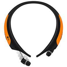 Auricolari Bluetooth con Microfono Colore Nero e Arancione