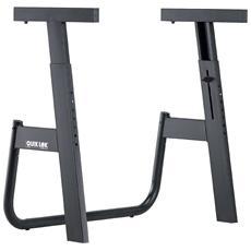 Quik Lok M / 91 Supporto stand per Tastiera Leggero robusto ripiegabile