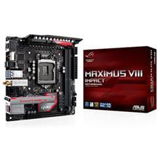 ASUS - Scheda Madre MAXIMUS VIII IMPACT Socket LGA 1151...