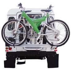 Gringo Bici portabici posteriore da ruota di scorta per fuoristrada