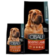 Cibo per cani Sensitive Lamb Medium / Maxi 2,5 kg