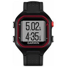 Forerunner 25 GPS con funzione Contapassi Calorie e Sonno Taglia Large - Nero / Rosso