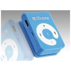 8GB, MP3, Blu, Digitale, Status, Flash-media, 8 GB