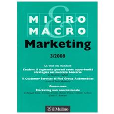 Micro & Macro Marketing (2008) . Vol. 3