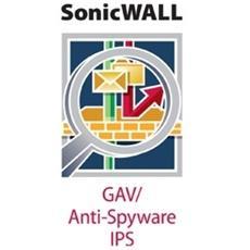 Gateway Anti-Virus, Anti-Spyware and Intrusion Prevention Service for NSA E7500 Series (1 Year)
