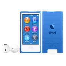 "iPod Nano 16 GB Display Touch 2.5"" Sintonizzatore FM Bluetooth 4.0 / Nike+ Colore Blu"