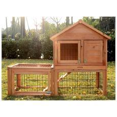 La conigliera gabbia in legno per conigli per animali domestici