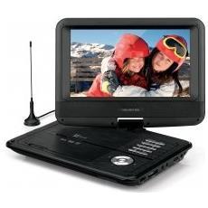 "Lettore DVD e TV portatile da 9"" DVB-T2 HEVC"