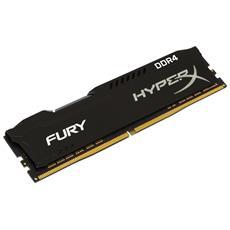 Memoria Dimm HyperX FURY 16 GB (1x16 GB) DDR4 2666 MHz CL 16 Colore Nero