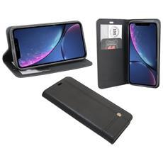 Iphone Xr Cuoio Di Vibrazione Nero Della Cassa Sguardo Manica