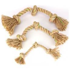 Gioco corda naturale Jungle 3 nodi Large: 45 cm