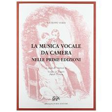 La musica vocale da camera nelle prime edizioni (Milano, 1838-80)