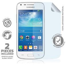 Pellicola Protettiva per Galaxy Core Plus + Panno microfibra